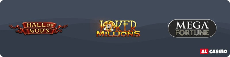 Hall of Gods – Joker Millions – Mega Fortunes