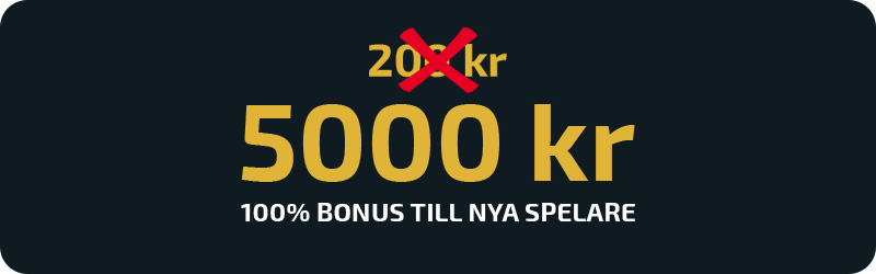 Ny, större bonus hos No Account Casino
